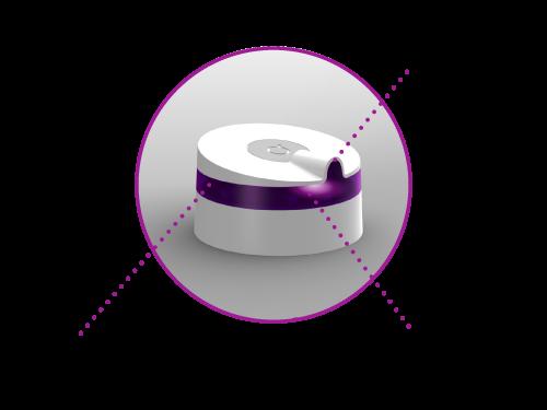 Le contrôleur infragouge Linkio est doté d'un recepteur infrarouge qui lui permet de mémoriser les séquences des télécommandes et de les rejouer plus tard.